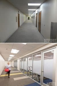 Seibels Before and After Images of Interior
