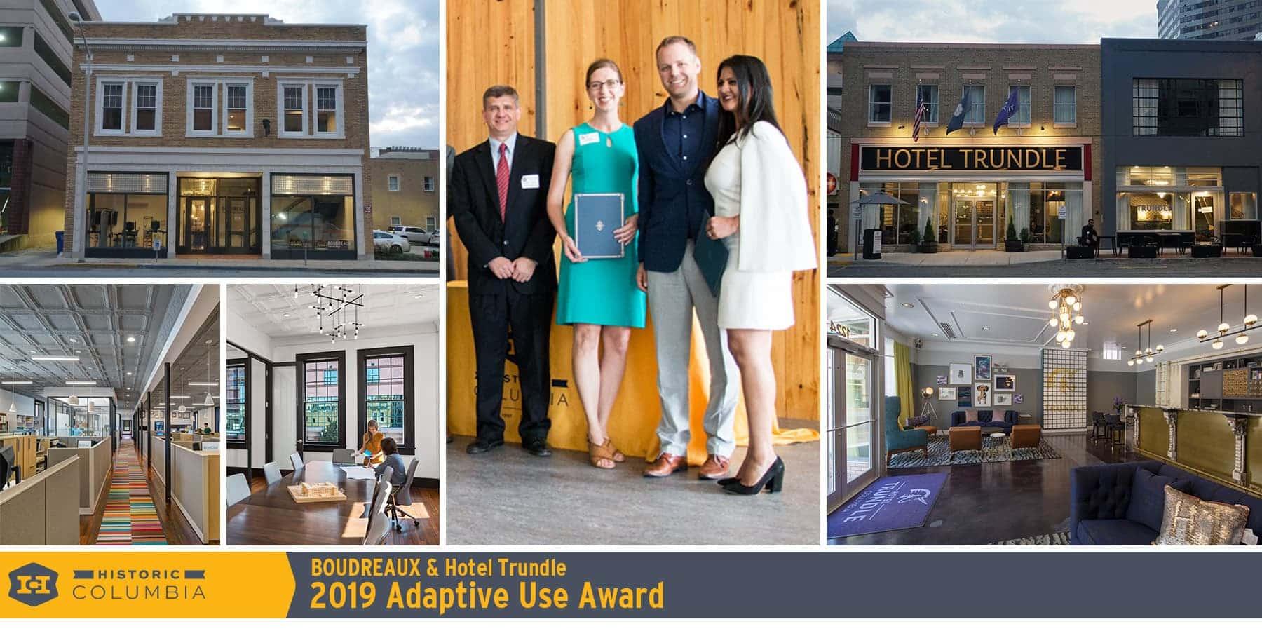 Boudreaux & Hotel Trundle Award