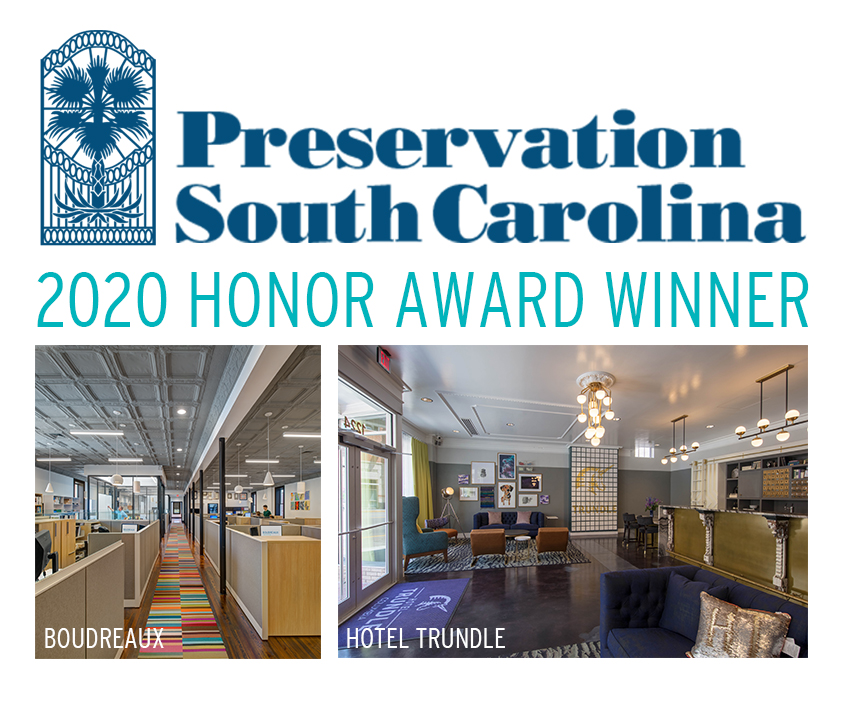 Historic Preservation Honor Award - Hotel Trundle & BOUDREAUX Offices