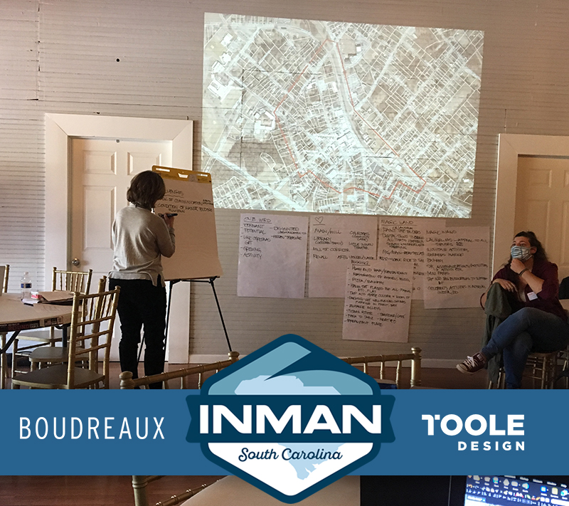 Master Planning with City of Inman, SC