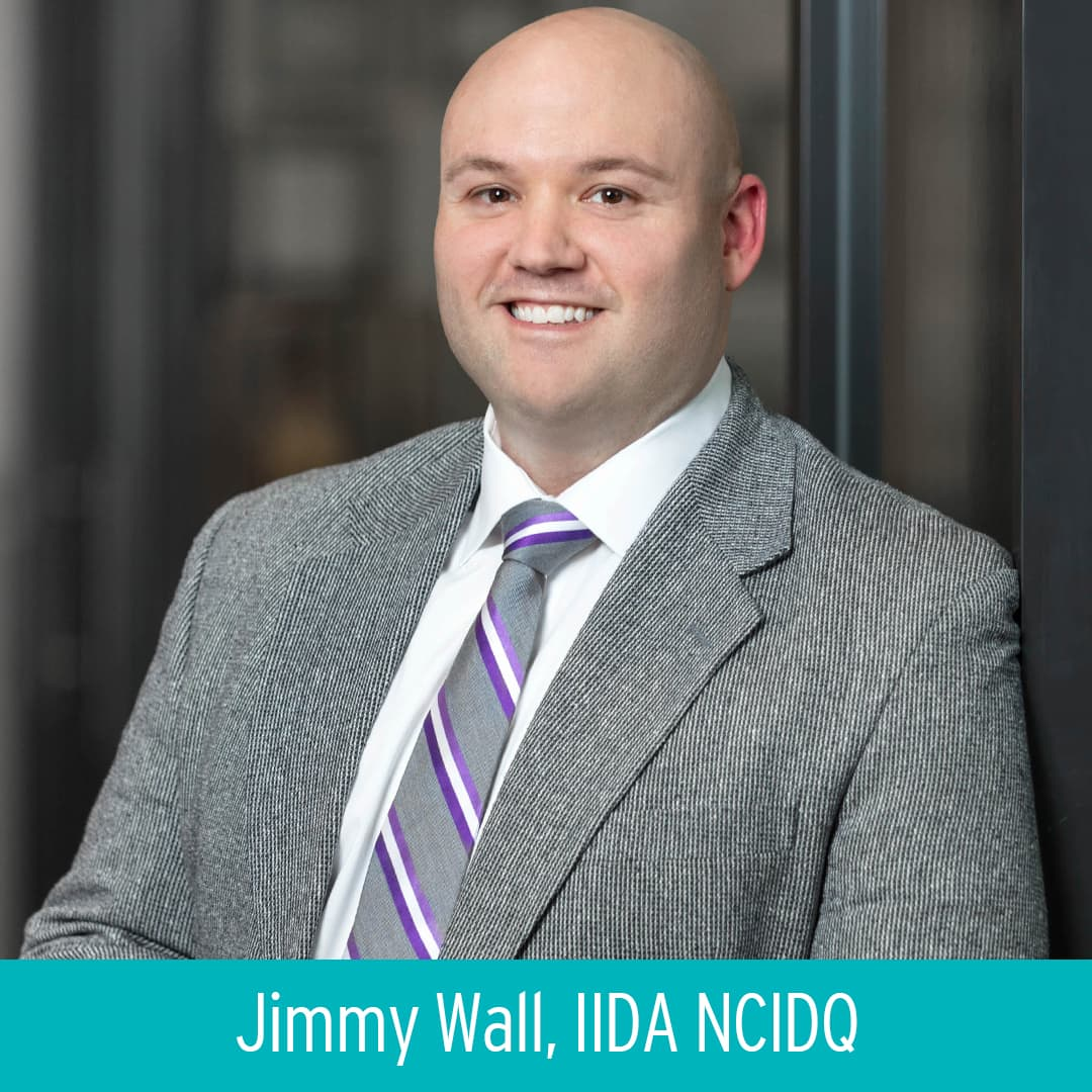 Jimmy Wall receives his NCIDQ certification
