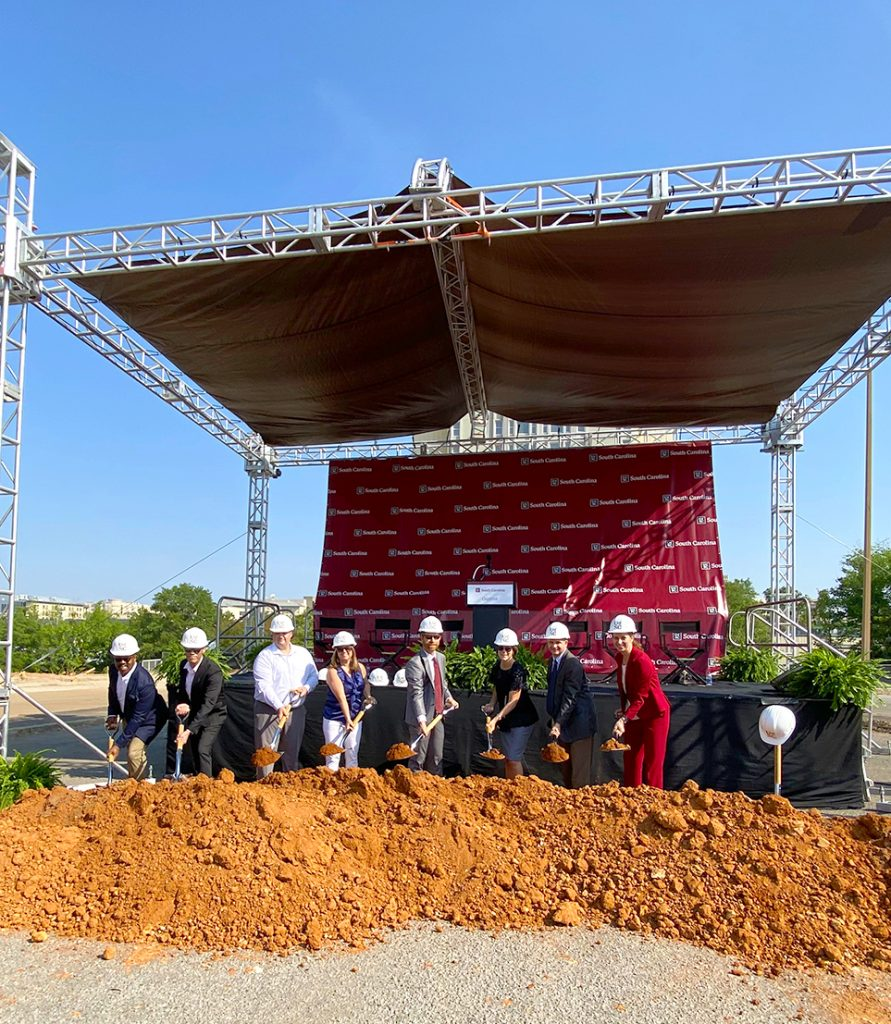 University of South Carolina's Campus Village Groundbreaking Celebration