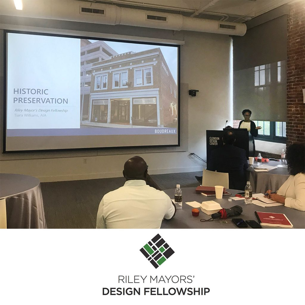 Riley Mayors' Design Fellowship 2021