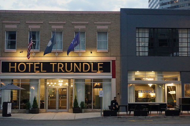 Hotel Trundle and BOUDREAUX