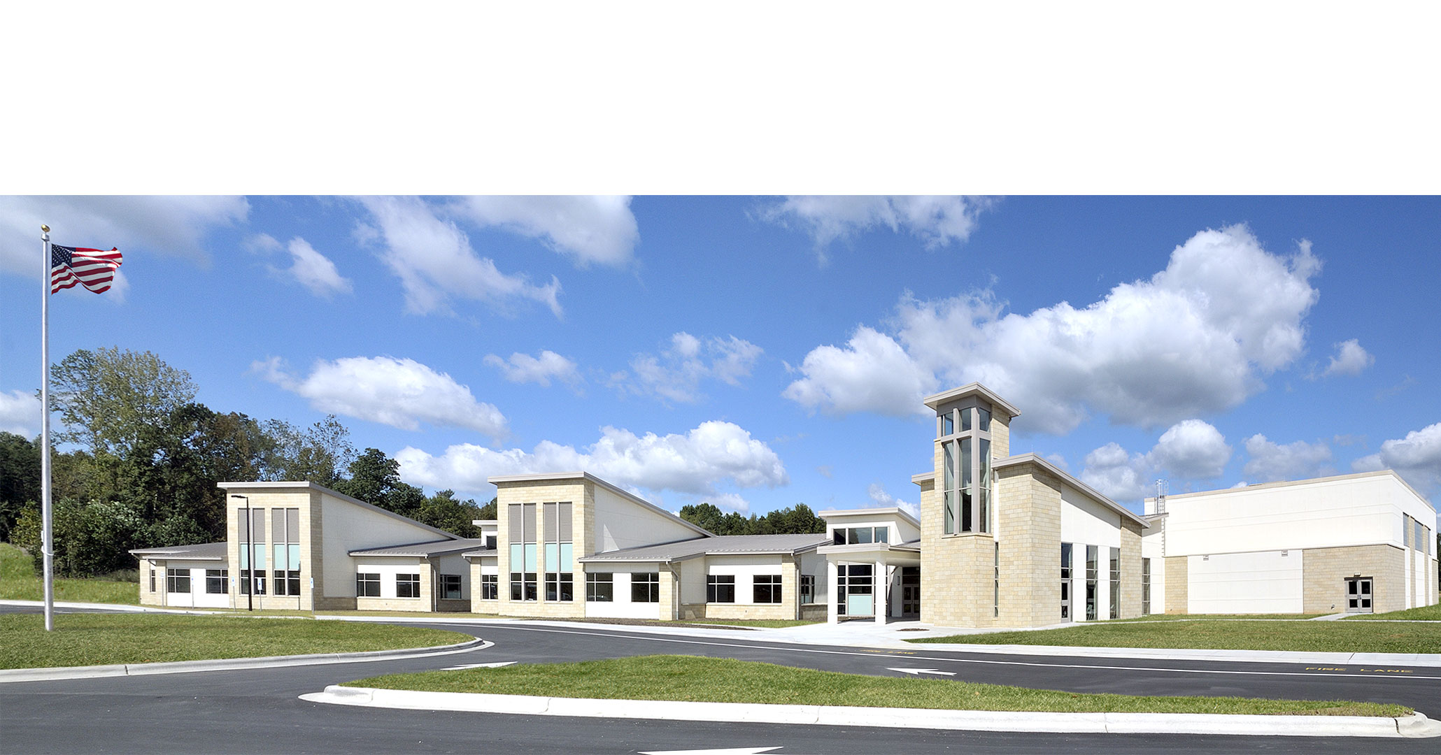 The Charlotte Diocese and Christ the King Catholic High School worked with Boudreaux master planners and architects to design the expansion of the High School.