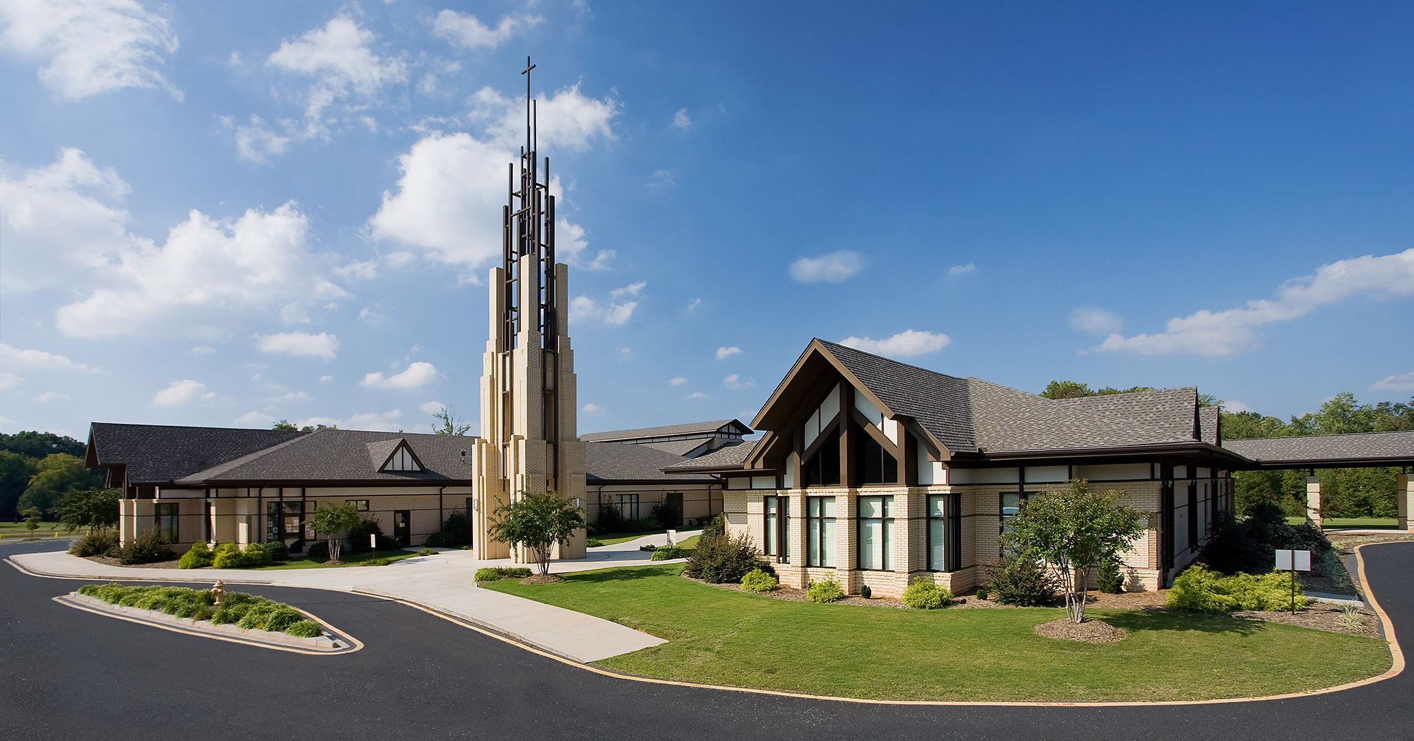 Boudreaux architects worked with the Clemson United Methodist Church to provide master planning services for their campus.