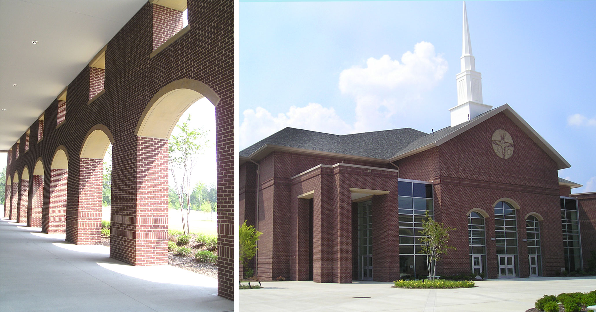 Boudreaux architects worked with the Riverland Hills Church to provide master planning services for their campus.