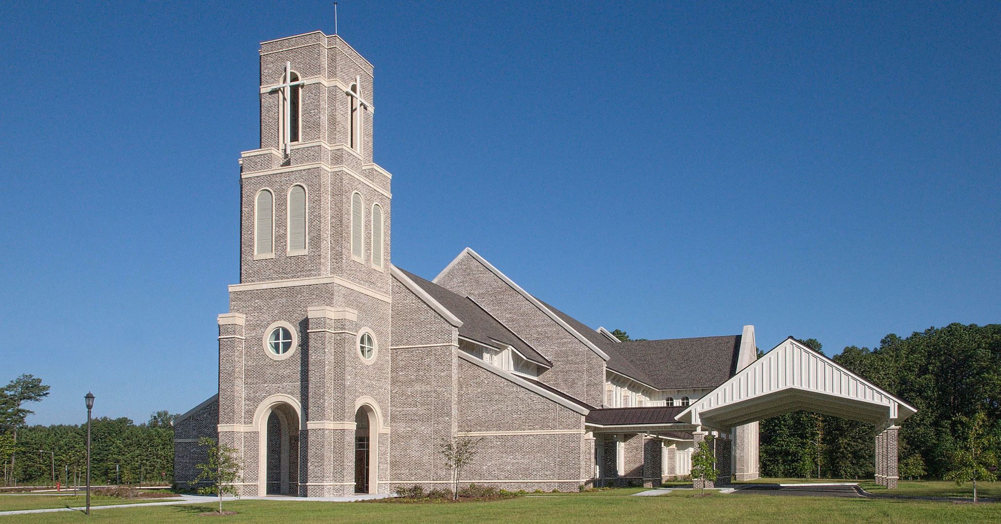 Boudreaux architects worked with St. Anne in Richmond Hill, GA to design an expansion at the church.