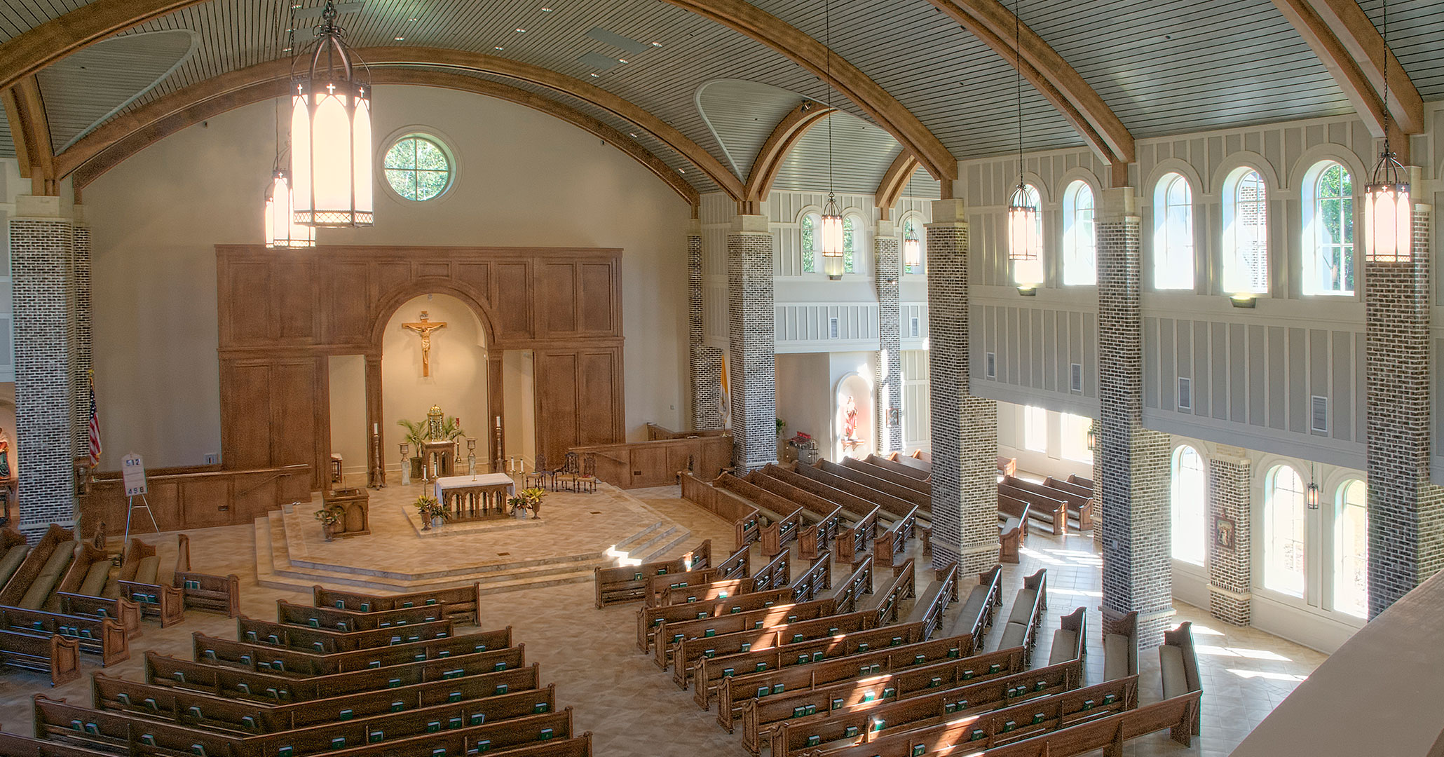St. Anne in Richmond Hill, GA to expanded their current church footprint using Boudreaux architects.