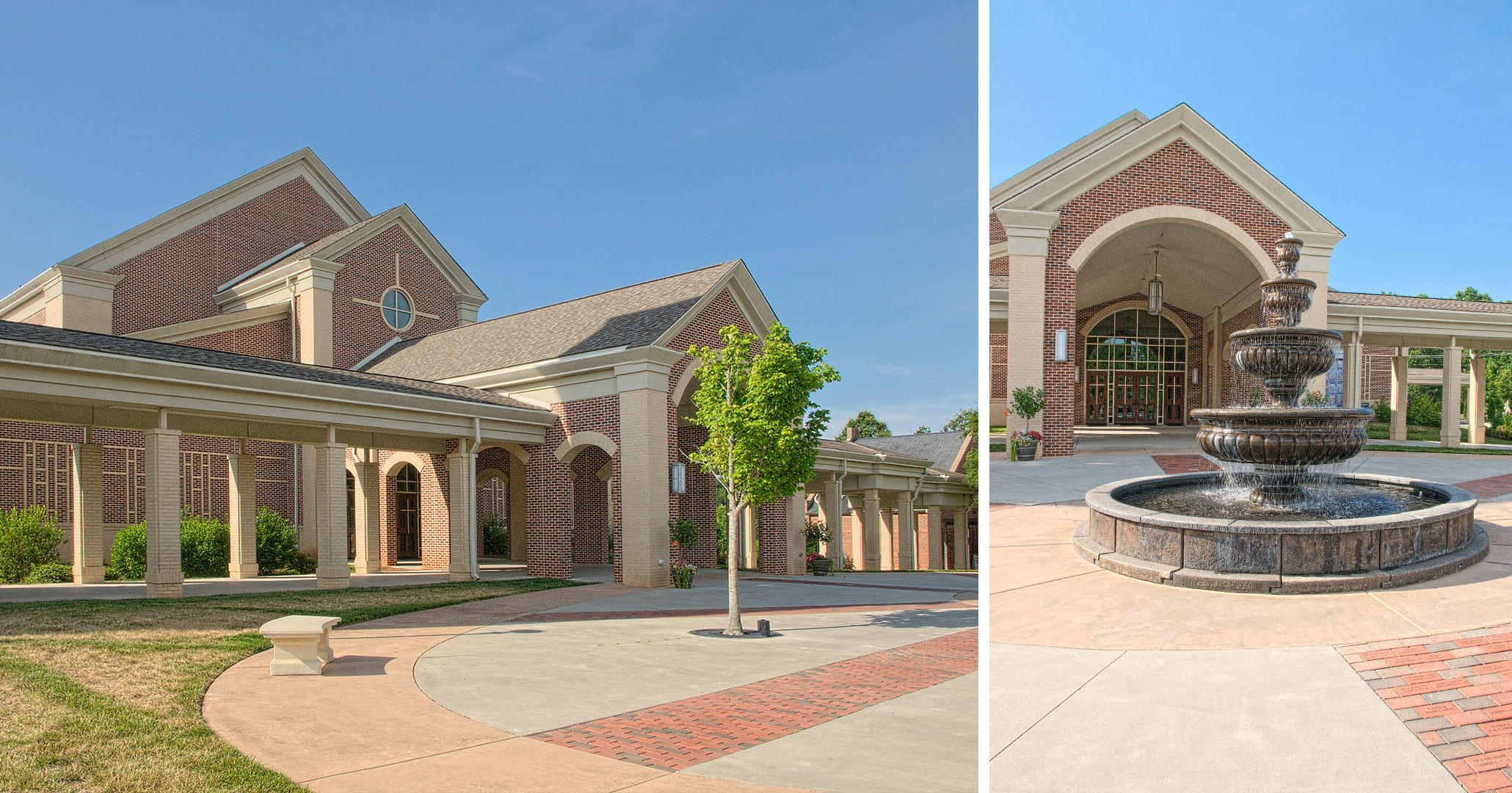 Boudreaux architects worked with St. Mark Catholic Church to design a new church for parishers.