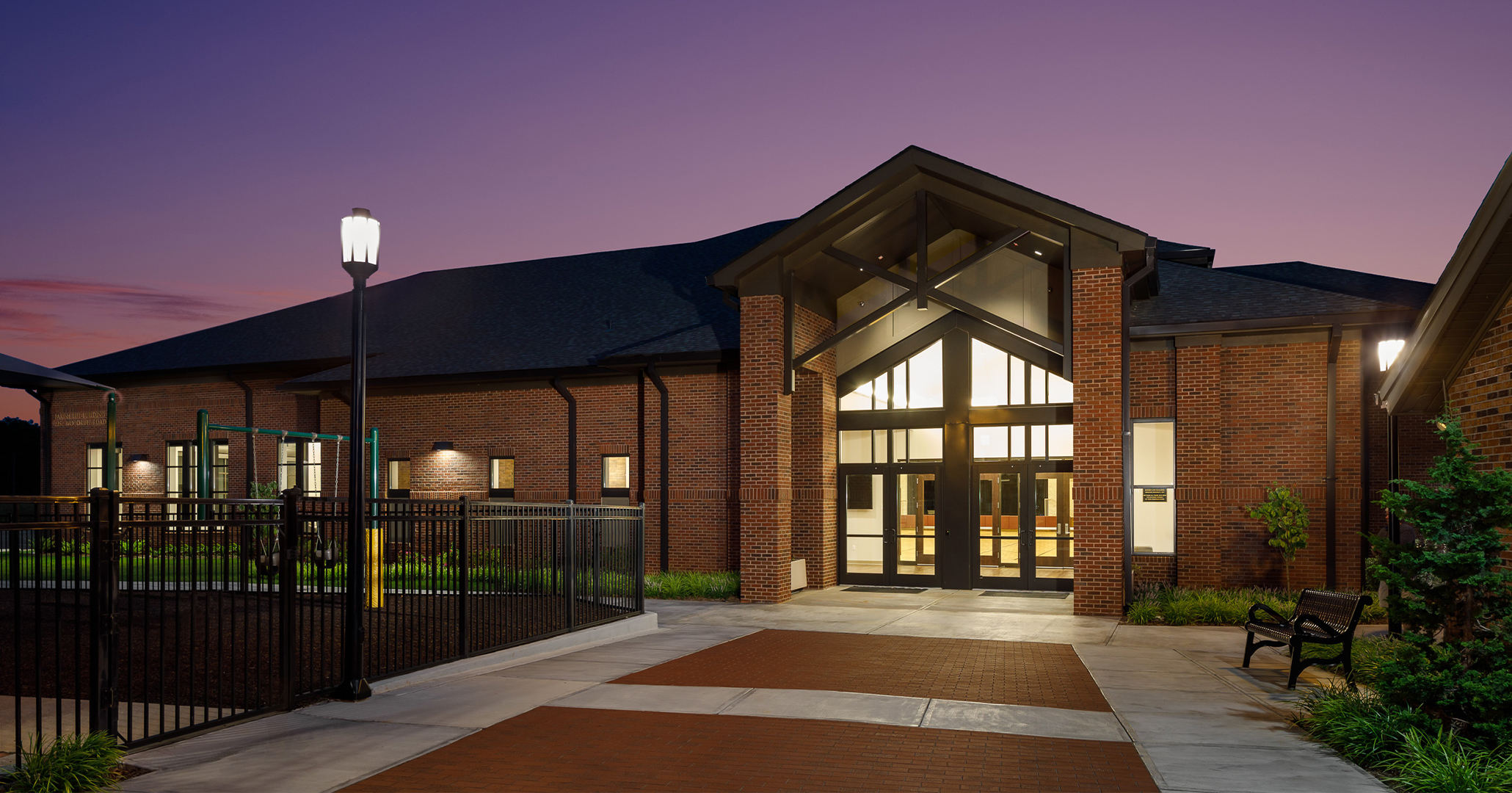 The Charleston Diocese and St Mary Magdalene Catholic Church in Simpsonville, SC is working with church architects Boudreaux to design the Parish Life Building.
