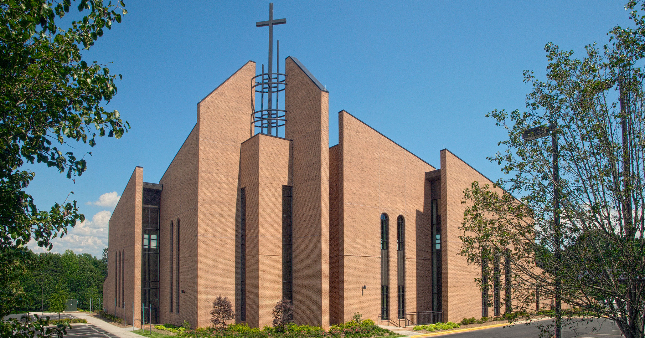 Boudreaux is experienced in designing Catholic churches, working with St. Therese in Mooresville, NC we designed a space that serves as a spiritual space.
