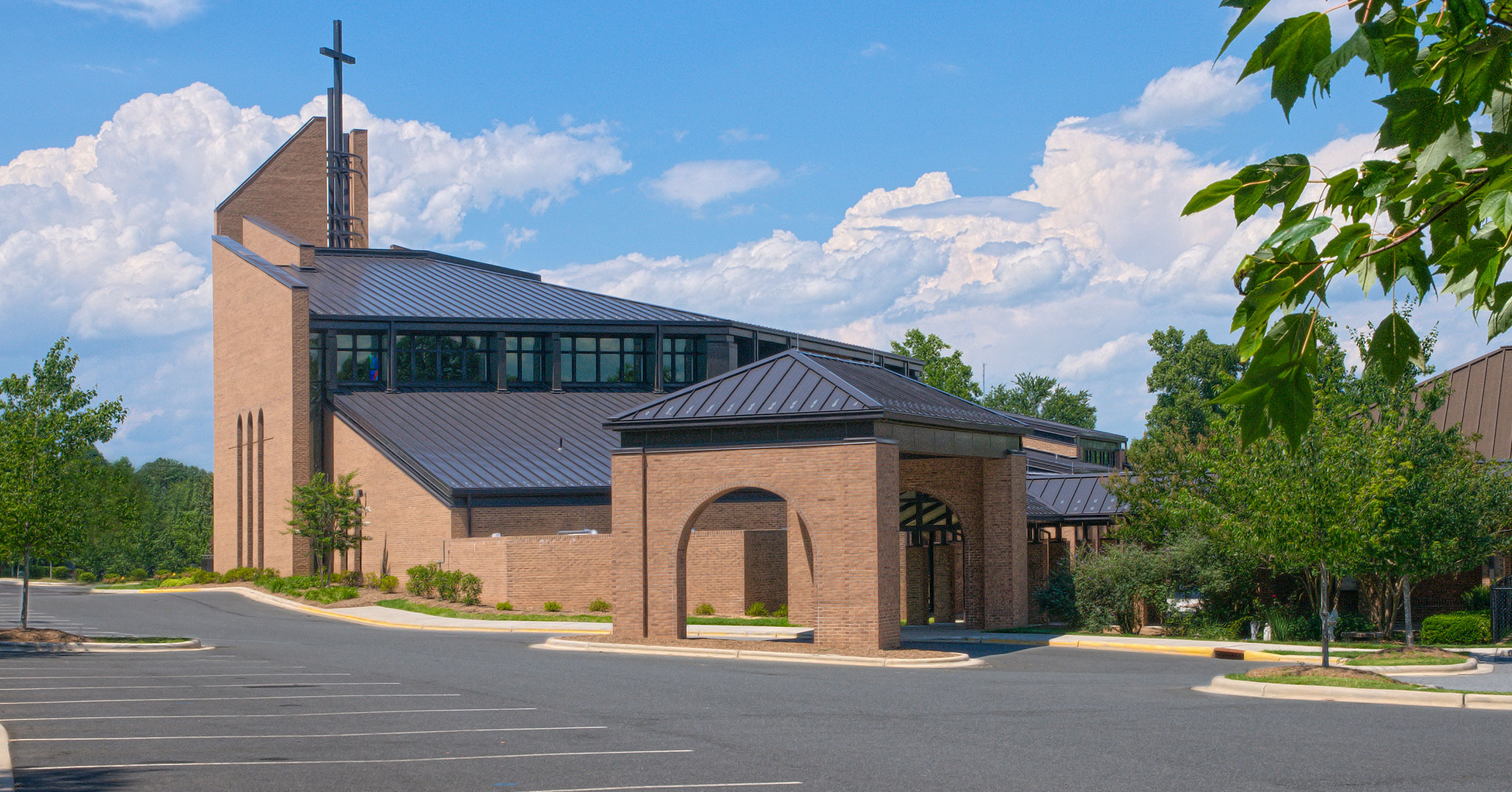 Boudreaux architects are experienced designing Catholic churches.
