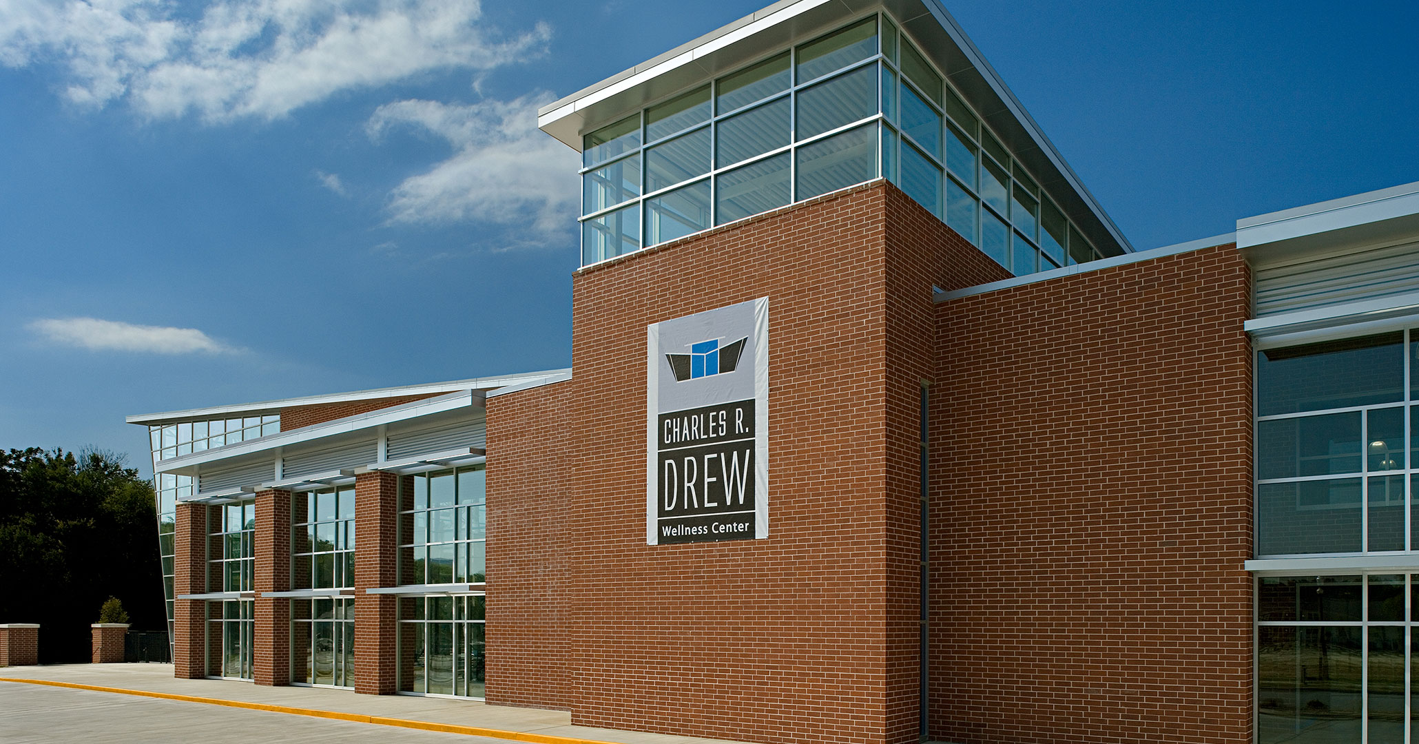 City of Columbia worked with Boudreaux architects to design the interiors at Drew Wellness Center.