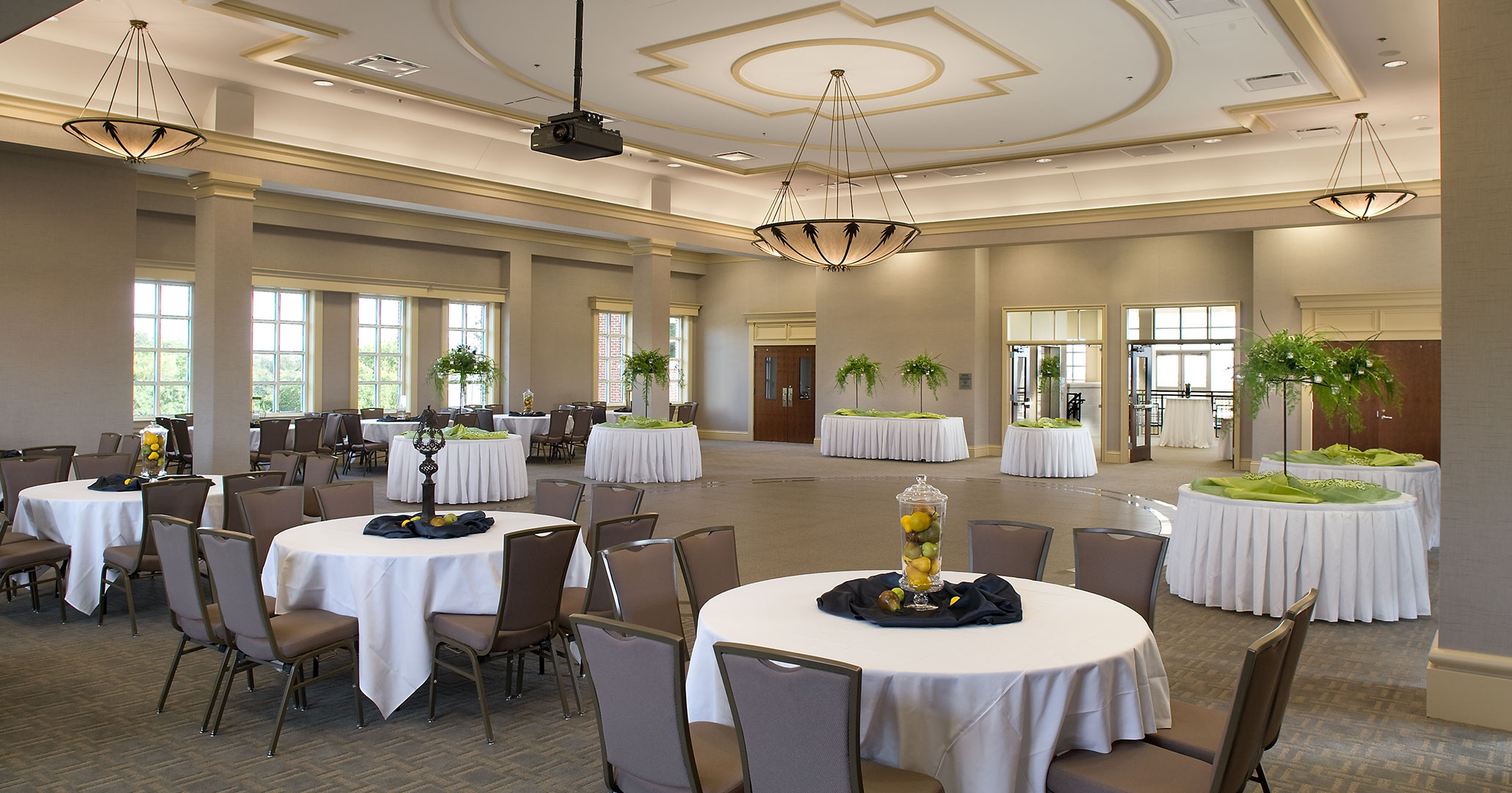 North Augusta Municipal Center hired Boudreaux architects to design wedding venue spaces.
