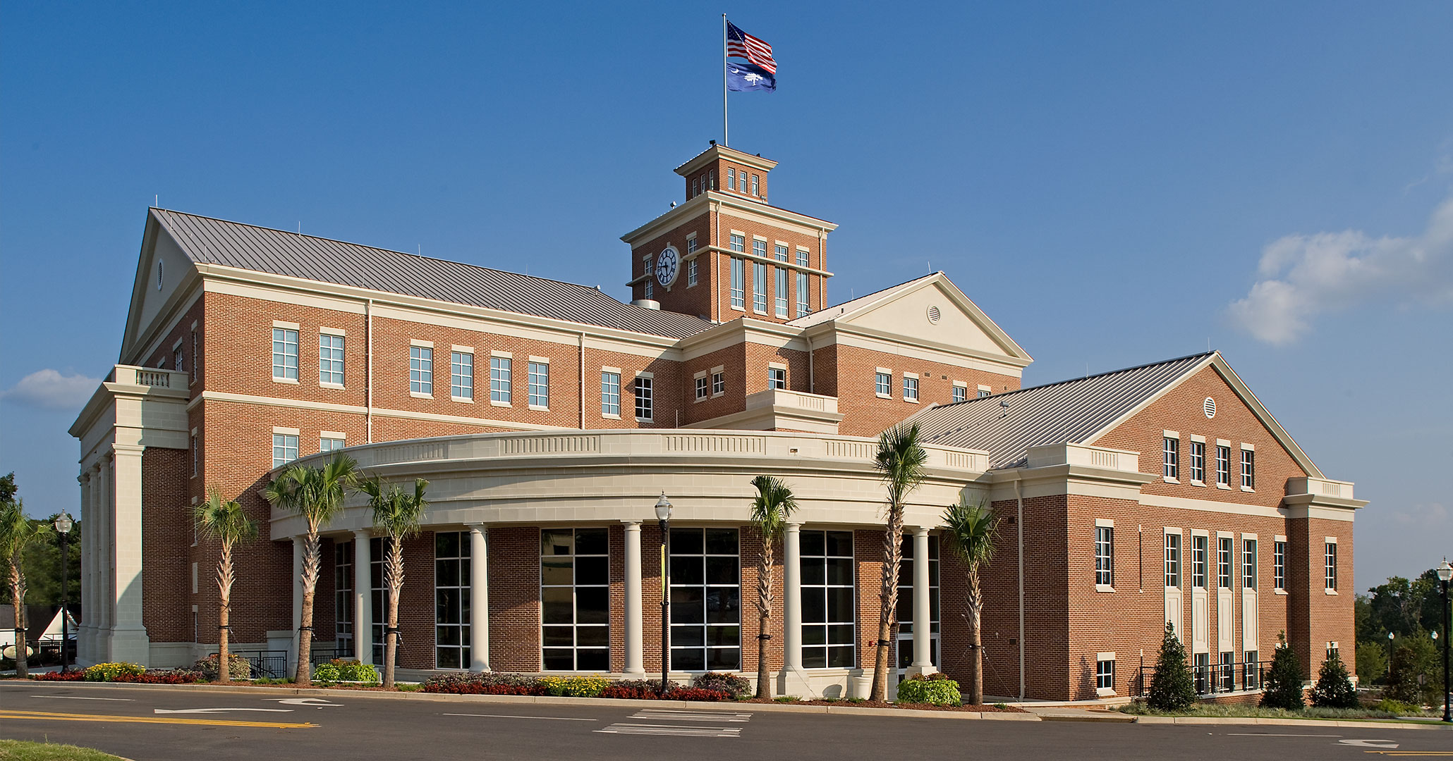 North Augusta Municipal Center hired Boudreaux architects to design party rental spaces.