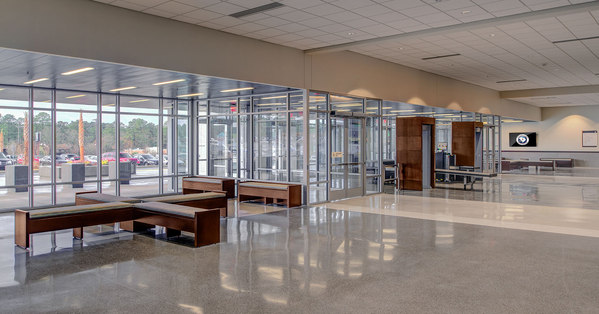 Richland County worked with Boudreaux architects to design a modern courthouse.