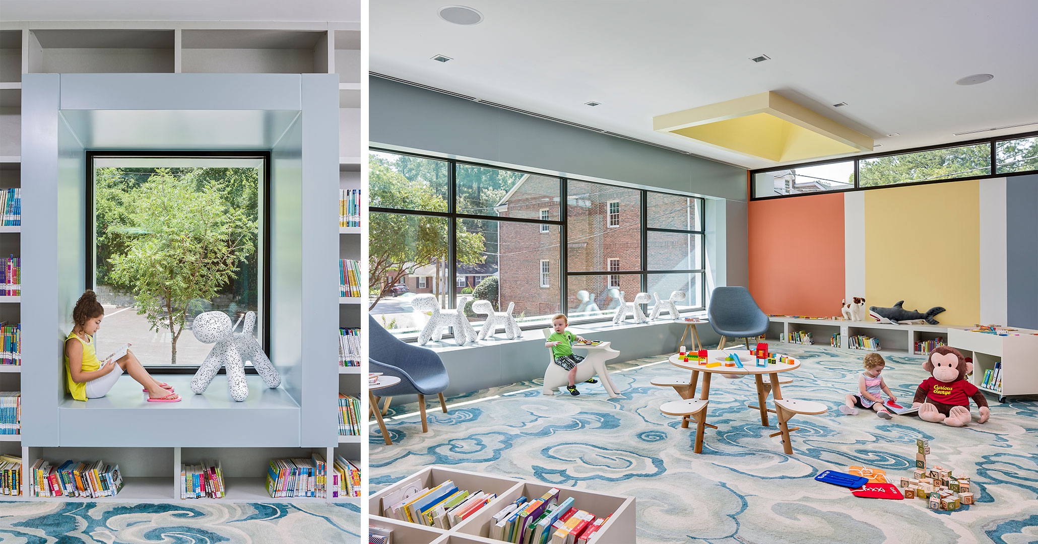 Richland County Library worked with Boudreaux architects to design flexible spaces.