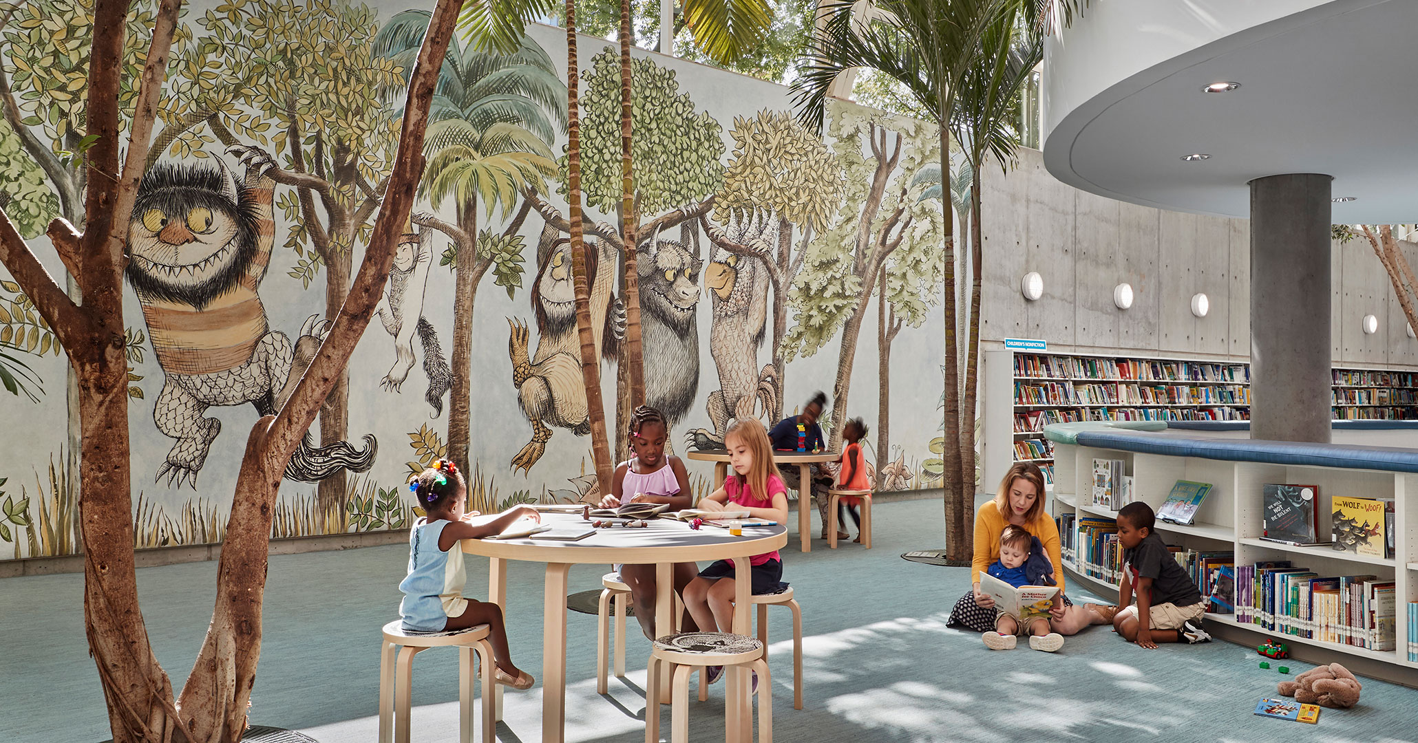 Boudreaux designed children's educational center and modern engaging spaces.