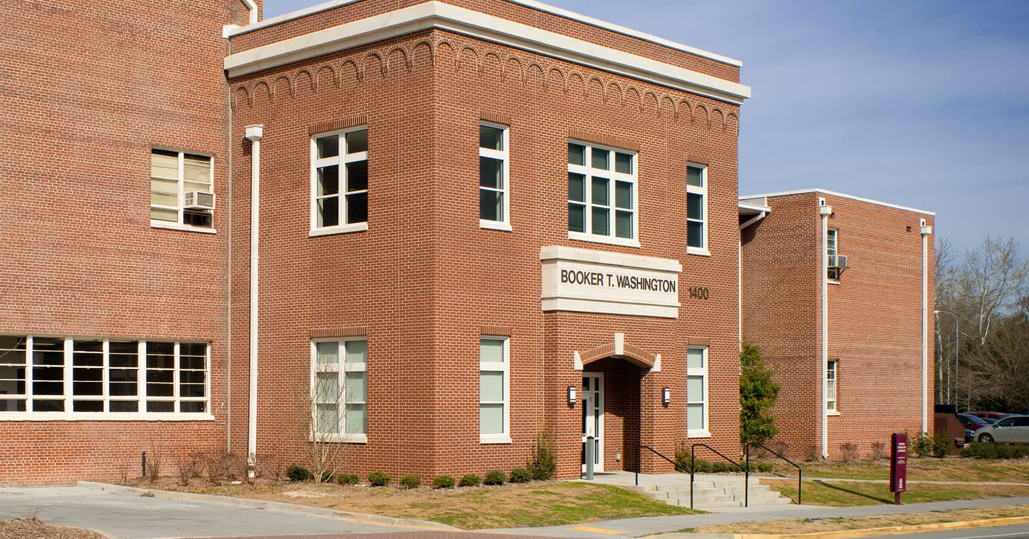 Boudreaux in Columbia, SC worked closely with black neighborhoods to design the new Booker T Washington Auditorium.