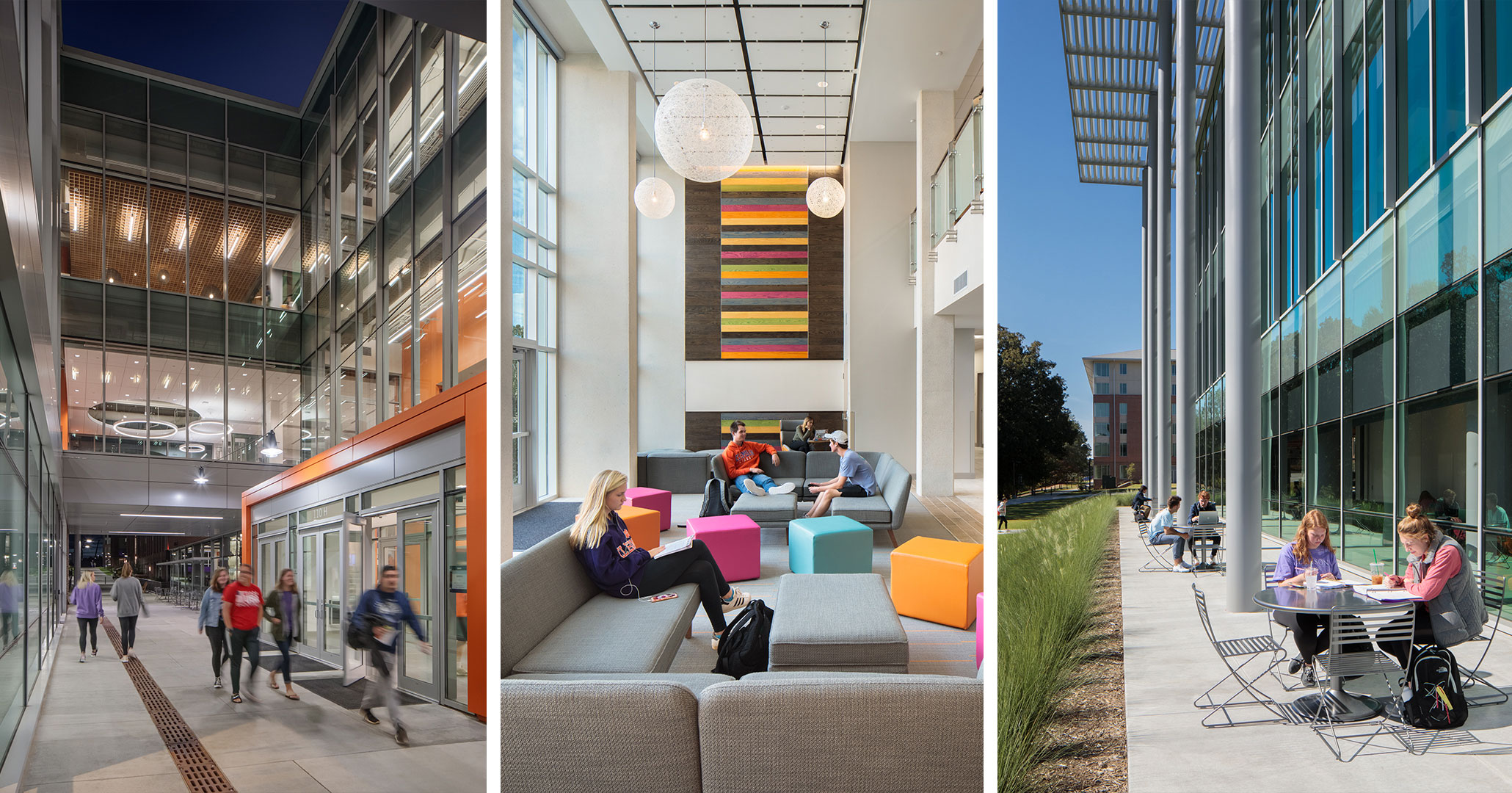 Clemson University worked with Boudreaux architects to design flexible student living spaces.