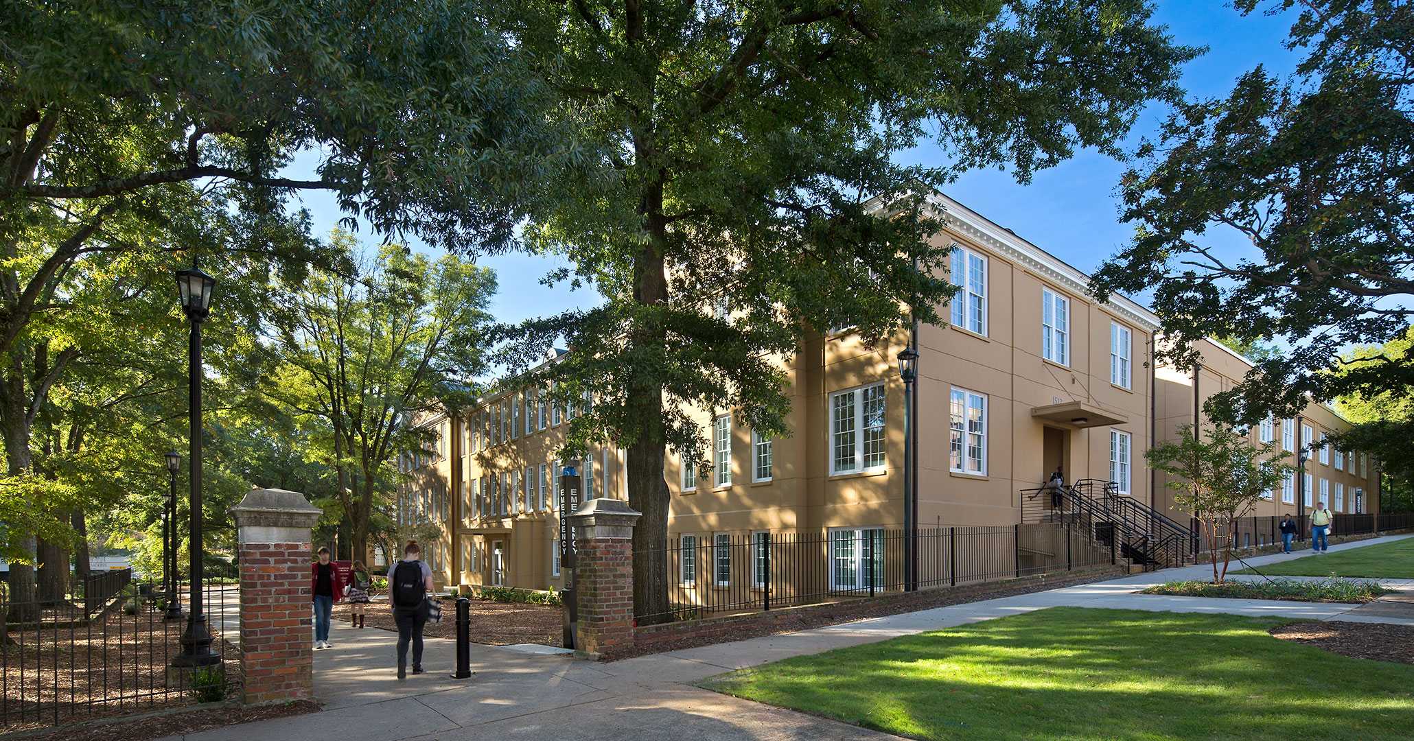 University of South Carolina worked with Boudreaux architects to rehabilitate historic campus building Hamilton College.