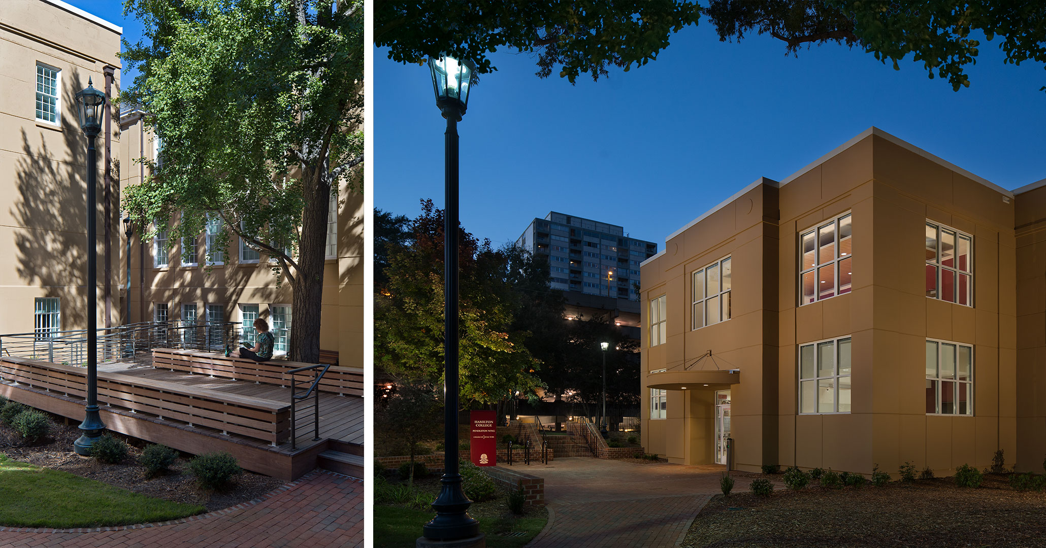 UofSC hired Boudreaux architects to provide historic preservation services at Hamilton College in Columbia, SC.