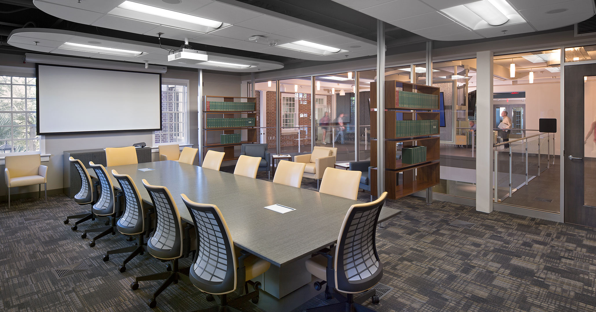 University of South Carolina hired Columbia, SC architects Boudreaux to design classrooms at the School of Journalism.