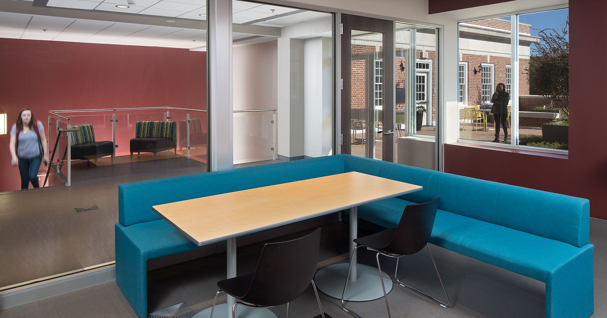 UofSC worked with Boudreaux architects in Columbia, SC to design flexible student spaces.