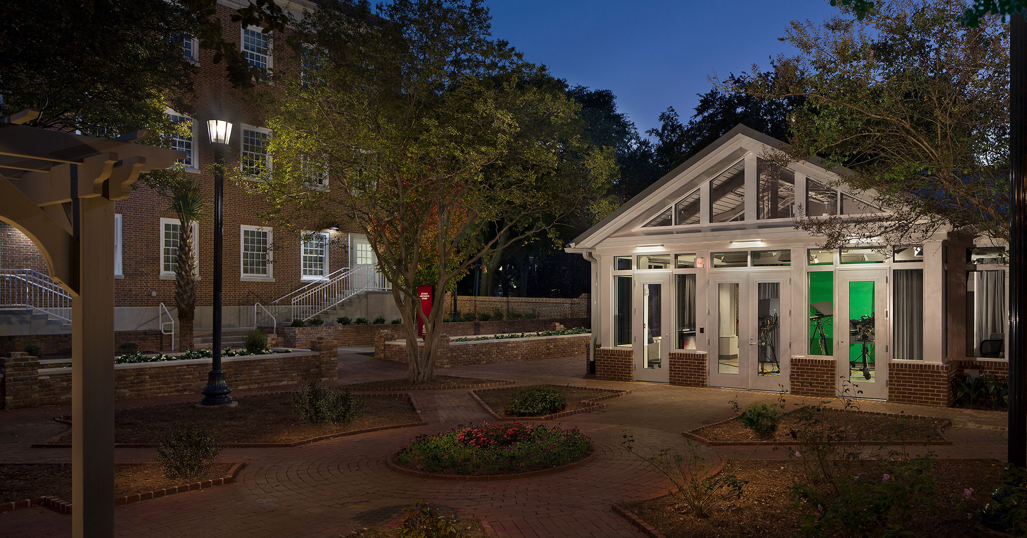 University of South Carolina worked with Boudreaux architects to design improvements to the historic property the Kennedy House.