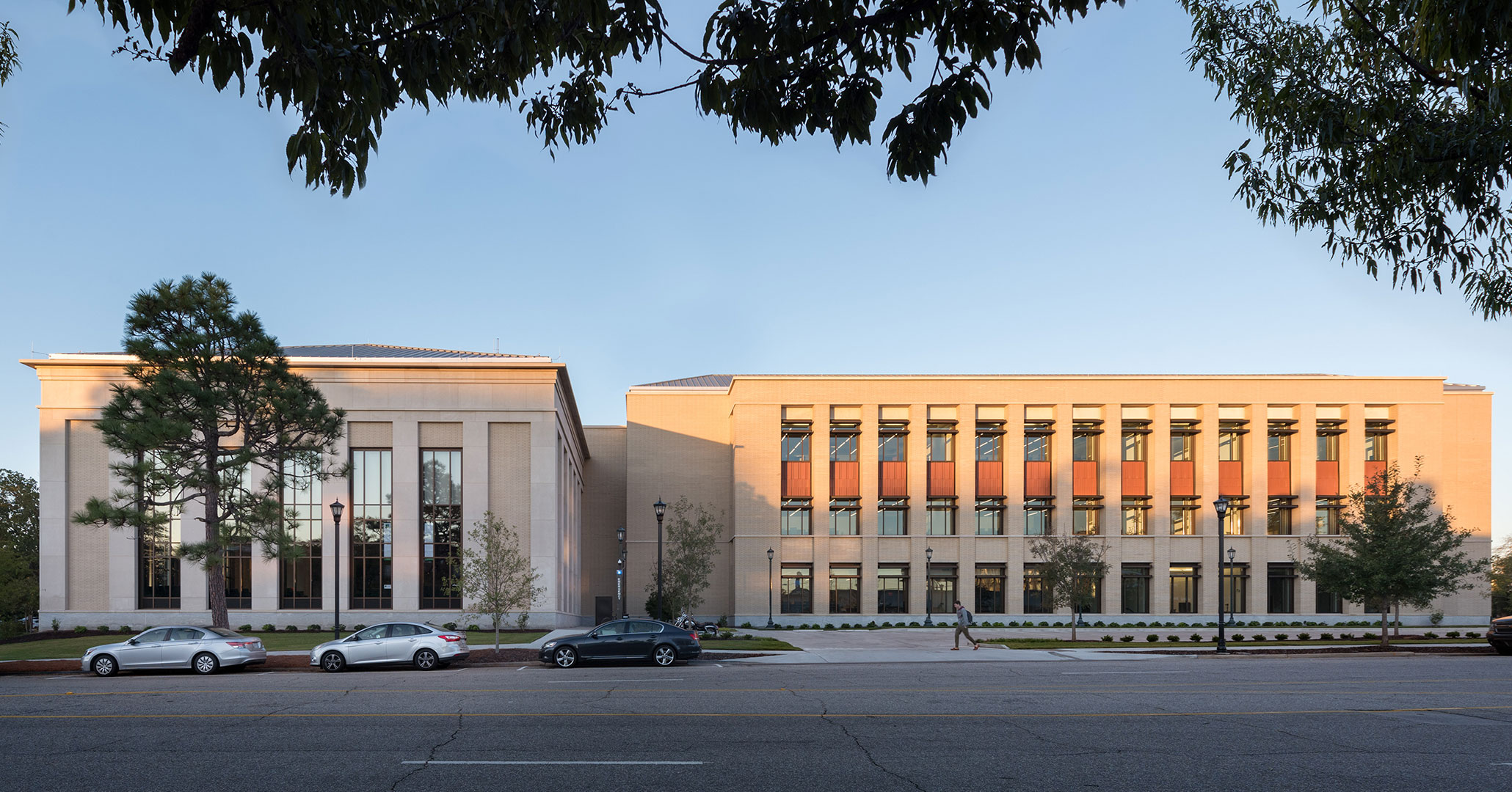 UofSC worked with Boudreaux architects to design the new prestigious Law School.