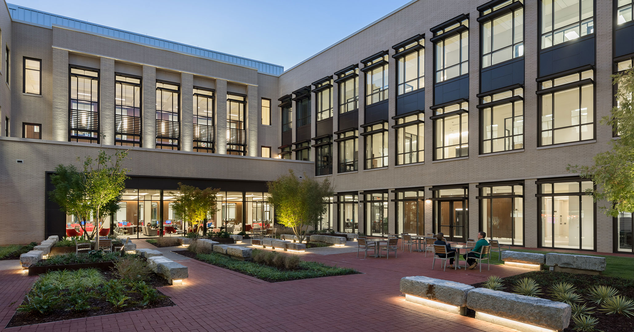 UofSC worked with Boudreaux architects to design the new Law School building.