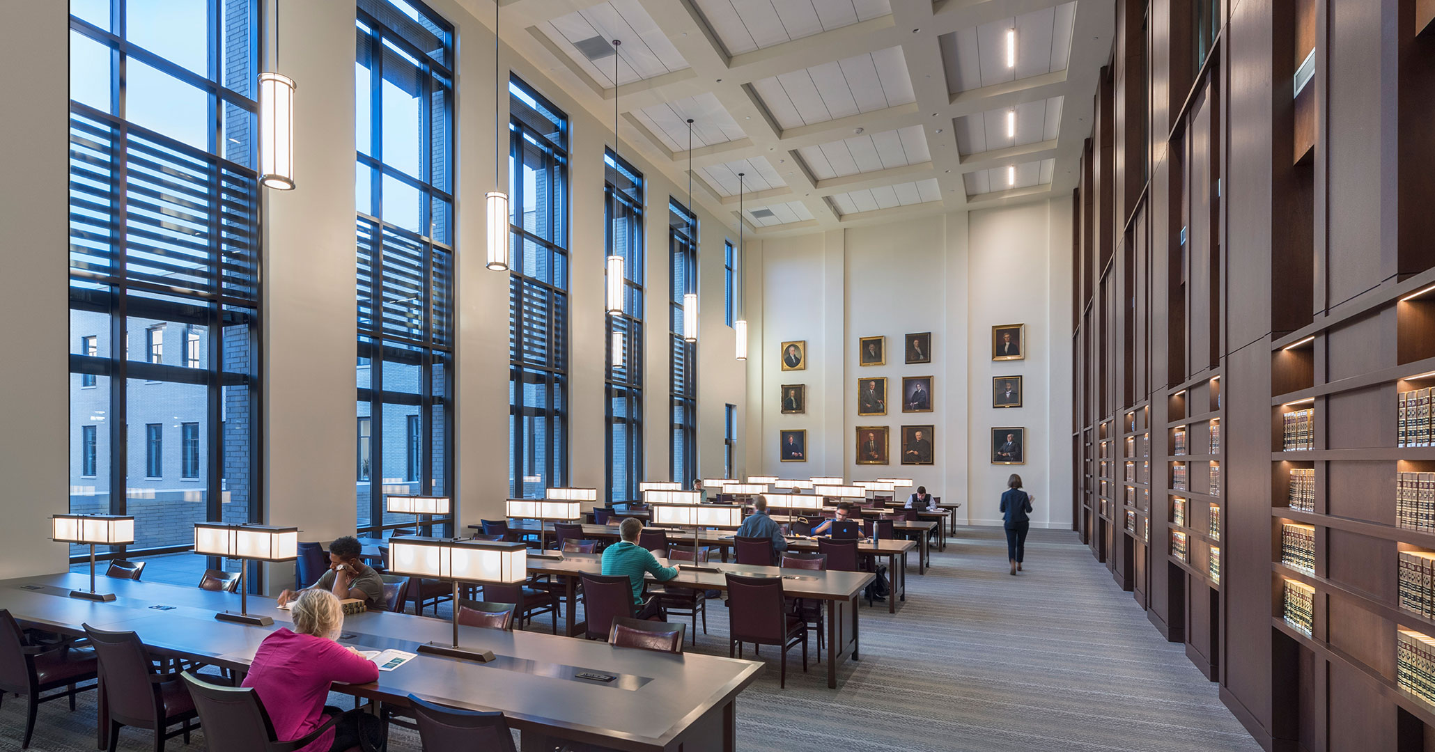 The University of South Carolina worked with Boudreaux architects to design a professional environment.