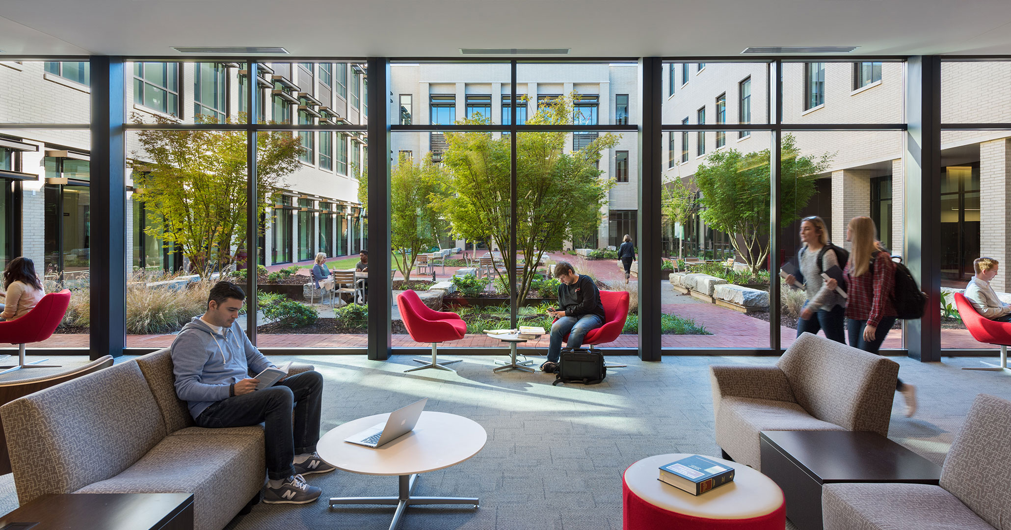 UofSC worked with Boudreaux architects to design the café space at the new Law School.