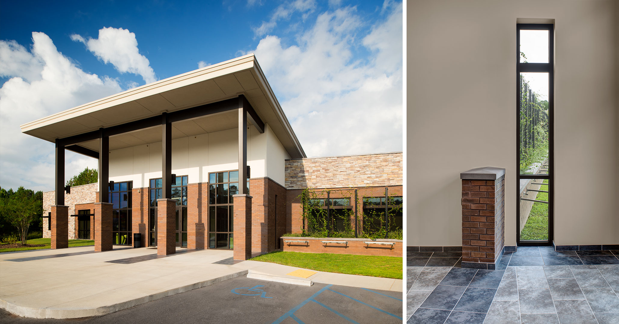 Boudreaux architects worked with the Richland County Recreation Commission to design the interiors and make the exterior look more modern at the RCRC Headquarters.